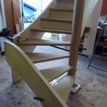 Treppenbau in der Werkstatt 2