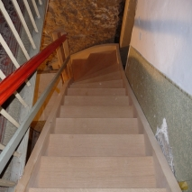 Treppe Altbau Füssen