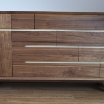 Sideboard Nuss / Ahorn  Trapezform