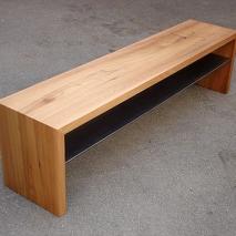 Sitzbank Rüster Fachboden Stahl 6 mm